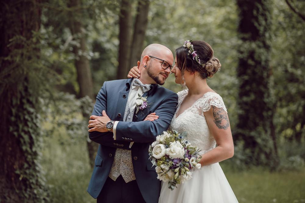 Hochzeitsgraf Bad Steben Lichtenberg Braupaarfotos