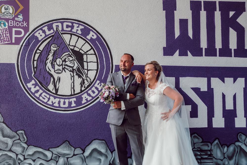 Hochzeitsfotograf Aue Wismut Aue Erzgebirge