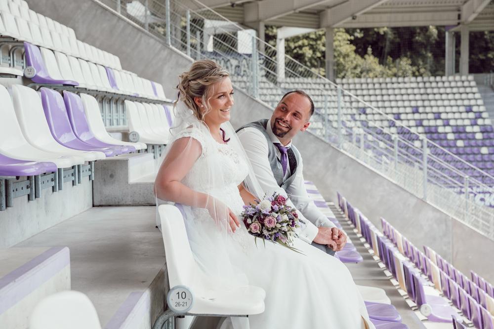 Hochzeitsfotograf Aue Stadion Erzgebirgsstadion