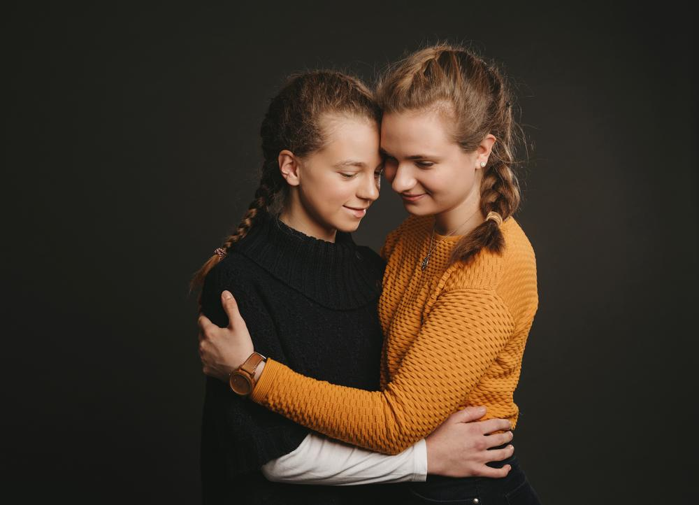 Geschwister Fotoshooting Fotograf Plauen